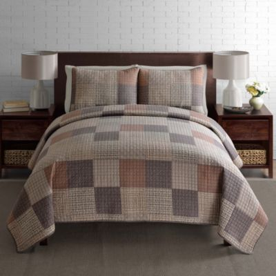 Verve Full/Queen 3-Piece Quilt Set