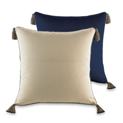 Blue Beige Pillow Sham