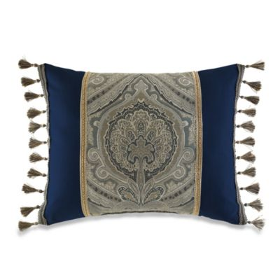 Croscill Hannah Boudoir Oblong Throw Pillow