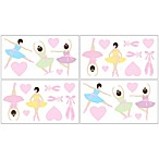 Sweet Jojo Designs Ballerina Wall Decals