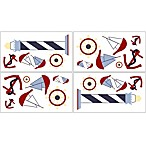Sweet Jojo Designs Come Sail Away Wall Decals