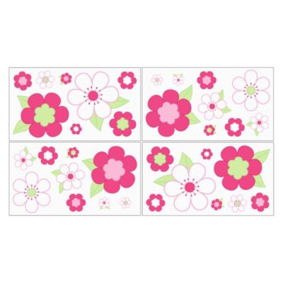 Flowers Baby Wall Decals