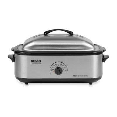 Nesco® 18-Quart Stainless Steel Electric Roaster Oven