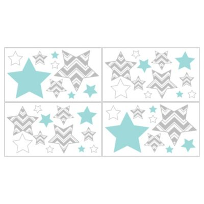 Sweet Jojo Designs Zig Zag Wall Decals