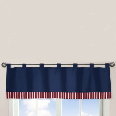 Sweet Jojo Designs Vintage Aviator Window Valance