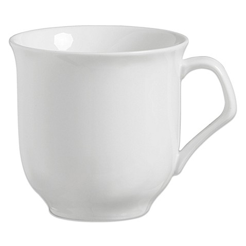 Luigi Bormioli Vivendo 4-Piece Mug Set in White