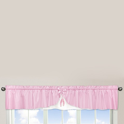 Sweet Jojo Designs Ballerina Window Valance