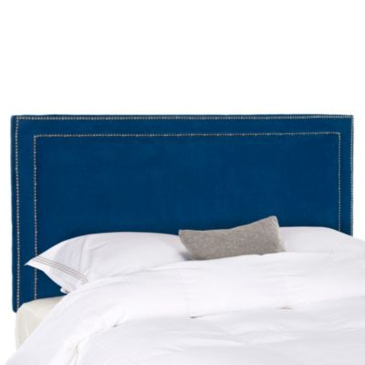 Safavieh Cory Full Headboard in Navy