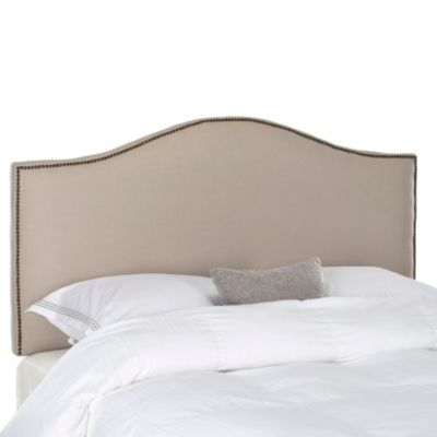 Safavieh Connie Queen Headboard in Taupe