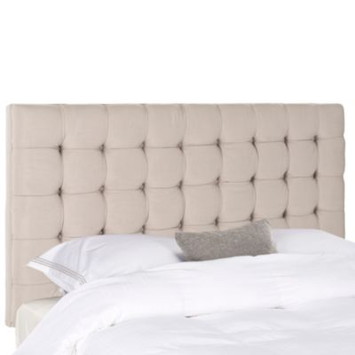Safavieh Lamar Full Headboard in Taupe