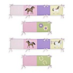 Sweet Jojo Designs Pretty Pony Crib Bumper