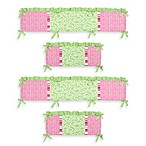 Sweet Jojo Designs Olivia 4-Piece Crib Bumper