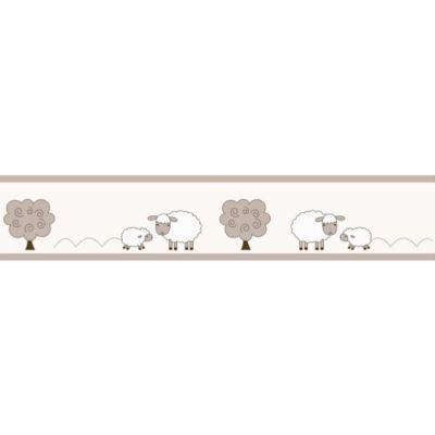 Sweet Jojo Designs Little Lamb Wallpaper Border