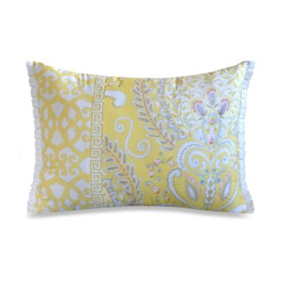 Yellow Toss Pillow