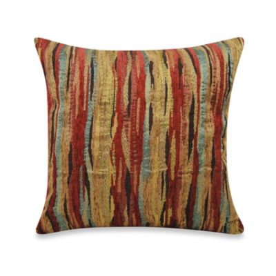 Impressions Throw Pillow in Red