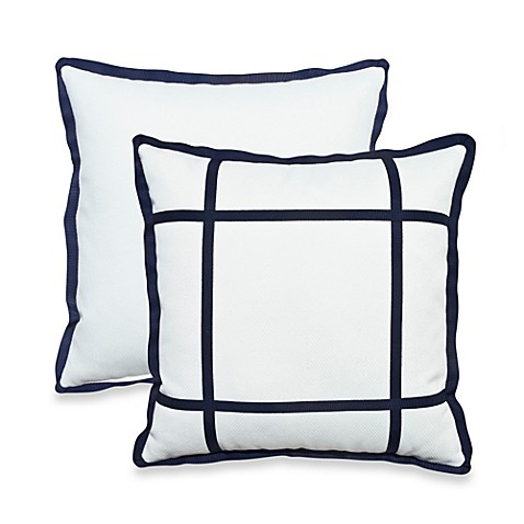 Rosetree New Haven Square Herringbone Pillow