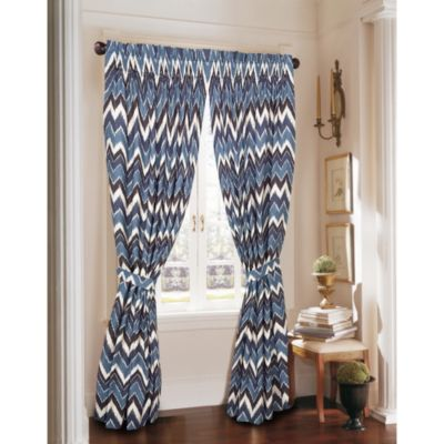 Rosetree New Haven Window Curtain Panel Pair With Tiebacks