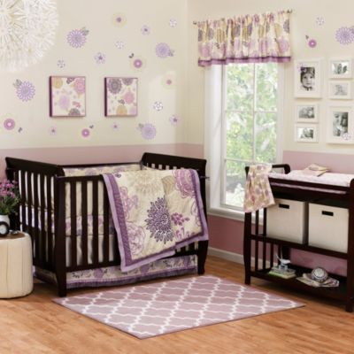 The Peanut Shell® Dahlia 4-Piece Crib Bedding Set