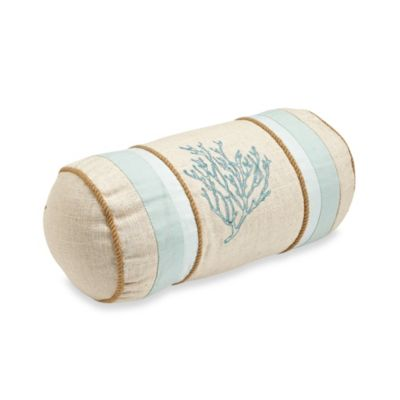 Natural Shells Neckroll Toss Pillow