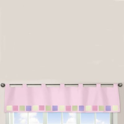 Sweet Jojo Designs Butterfly Window Valance in Pink/Purple
