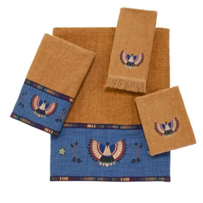 Avanti Thunderbird Wash Cloth Towel in Nutmeg