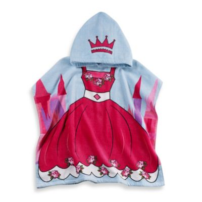Hooded Princess Bath Towels