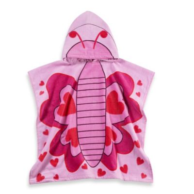 Butterfly Kids Bath Towels