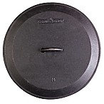 Pre-Seasoned Round Cast Iron Skillet Lids