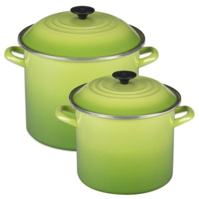 Le Creuset® 12-Quart Stockpot in Palm
