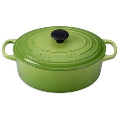 Le Creuset® Signature 5 qt. Oval French Oven in Palm