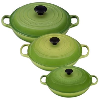 Le Creuset® Signature 5-Quart Braiser in Palm