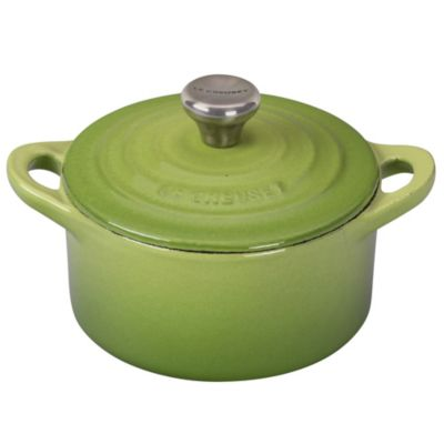 Le Creuset® 0.33-Quart Mini Round Cocotte with Stainless Steel Knob in Palm