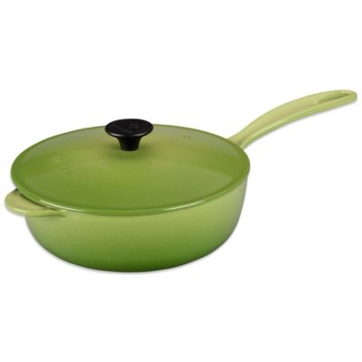 Le Creuset® 3-Quart Covered Saucier Pan in Palm