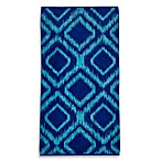 Ikat Diamond Beach Towel