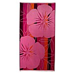 Pink Hibiscus Oversized Beach Towel