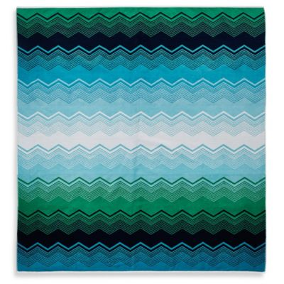 "Chevron 59"" x 70"" Velour Beach Towel for Two"