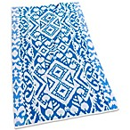 Echo Design™ Malia Jacquard Beach Towel in Blue