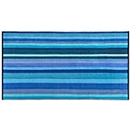 Kassatex Spiaggia Ombre Oversized Beach Towel in Azure Blue