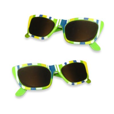 Sunglasses Boca Clips® in Blue Stripe (Set of 2)