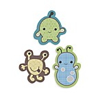 CoCalo Baby® Peek a Boo Monsters 3-Piece Wood Wall Art