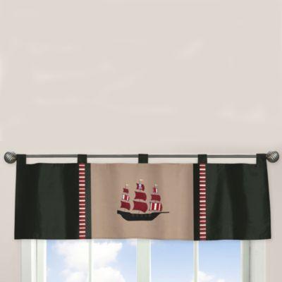 Sweet Jojo Designs Pirate Treasure Cove Window Valance