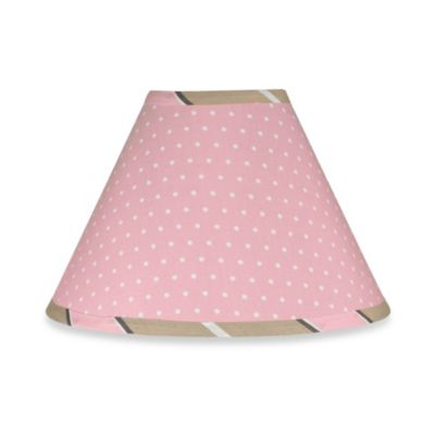 Sweet Jojo Designs Mod Dots Lamp Shade in Pink
