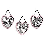Sweet Jojo Designs Sophia 3-Piece Wall Hanging Set