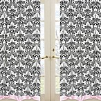 Sweet Jojo Designs Sophia Window Panel Pair