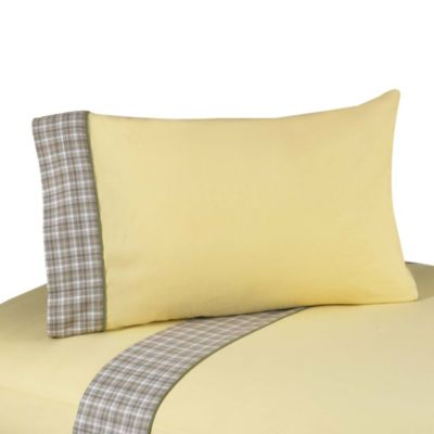 Sweet Jojo Designs Construction Zone Twin Sheet Set