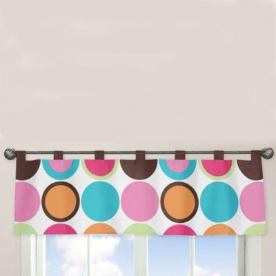 Sweet Jojo Designs Deco Dot Window Valance