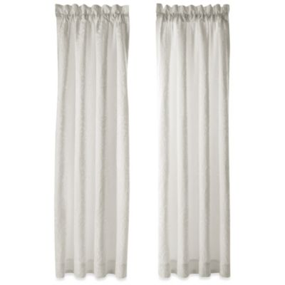 J. Queen New York™ Chantilly 84-Inch Window Panel Pair