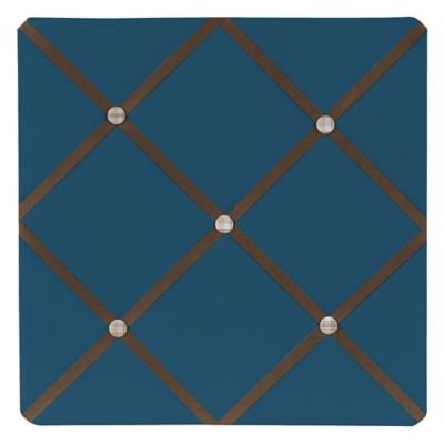 Sweet Jojo Designs Construction Zone Fabric Memo Board