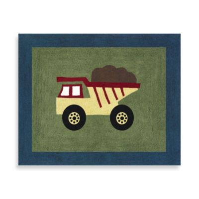 Sweet Jojo Designs Construction Zone 36-Inch x 30-Inch Accent Rug