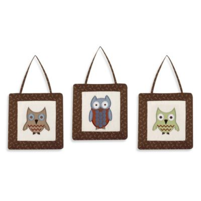 Sweet Jojo Designs Night Owl Wall Hangings